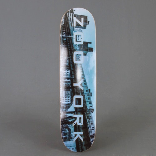 "Zoo York Subway 8"" skateboard deck"