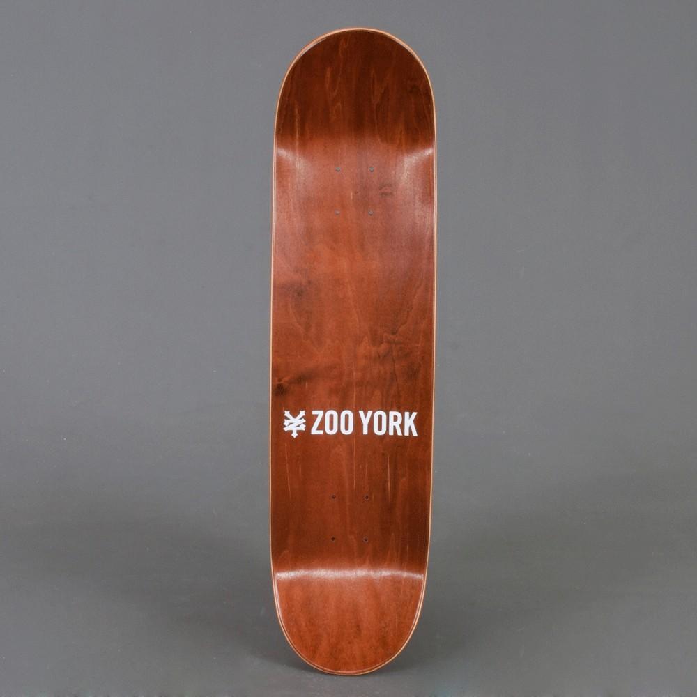 "Zoo York where you from 8"" Skateboard deck"