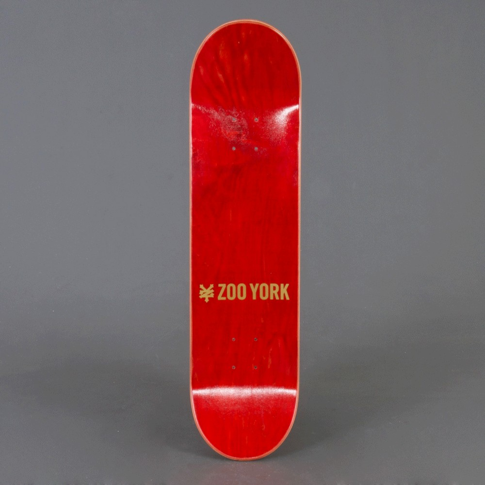 "Zoo York Red Label 8"" skateboard deck"