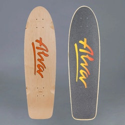Alva 1978 Bela red skateboard deck