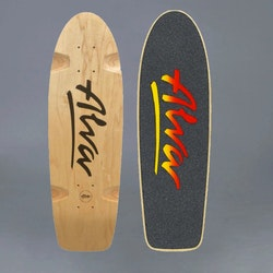 Alva 1978 Bela black skateboard deck
