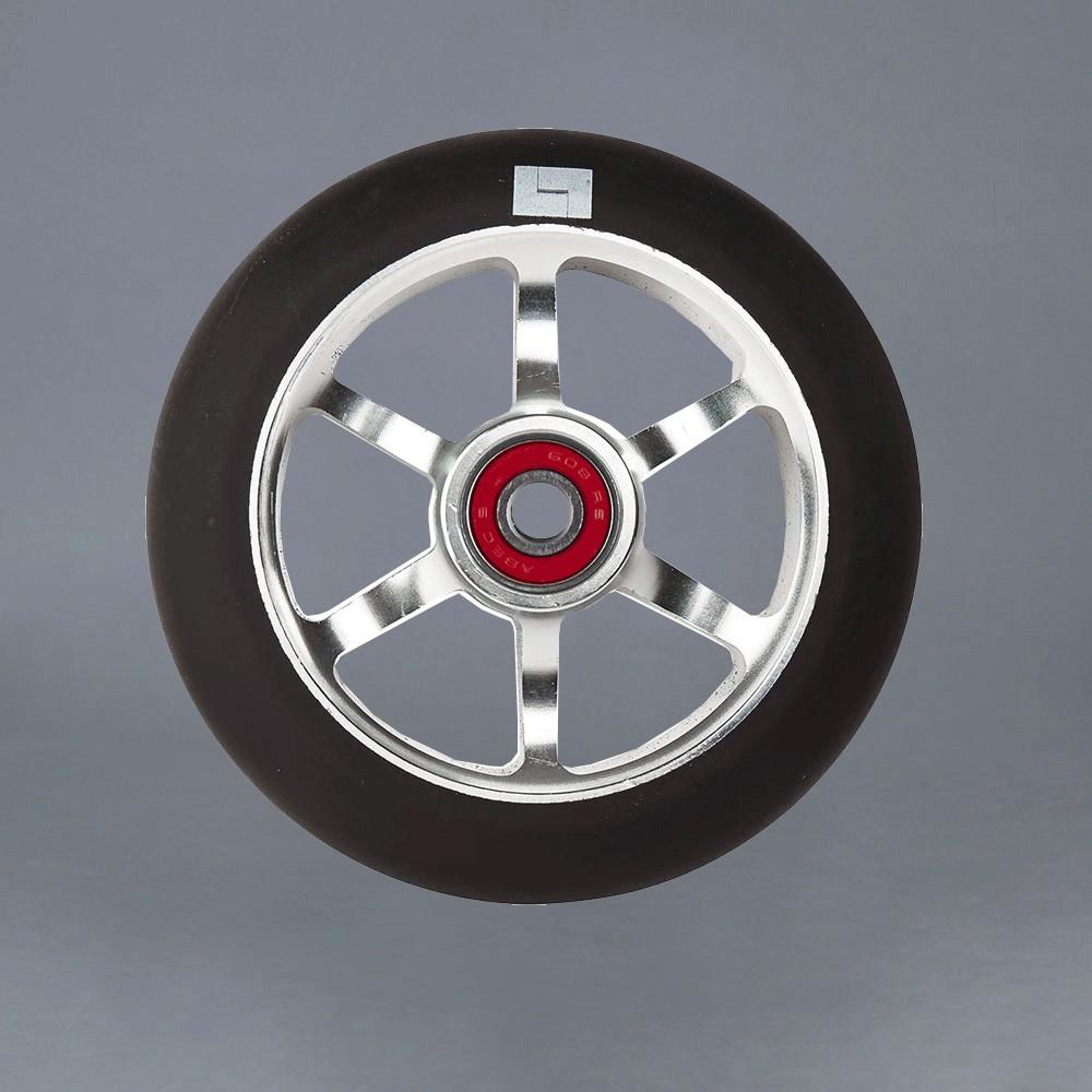 Logic 6 Spoke 110mm chrome Kickbike Hjul