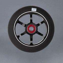 Logic 6 Spoke 100mm svart Kickbike Hjul
