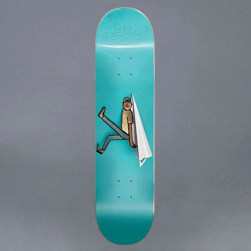 Almost JJ Cutout R7 Yuri 8.25 Skateboard deck