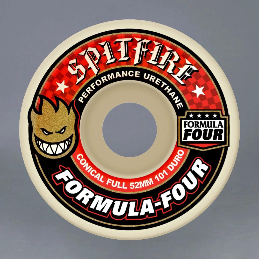 Spitfire Formula four 52mm 101A Red skateboard hjul
