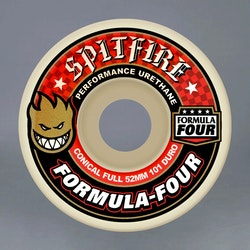 Spitfire Formula four 52mm 101A Red skateboard hjul