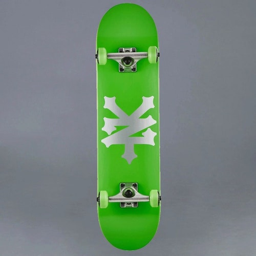 "Zoo York Big Cracker Green 7.75"" Komplett Skateboard"