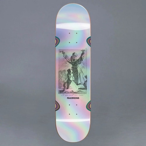 Madness Kreiner Hail Impact Light Holographic 8.25 Skateboard Deck