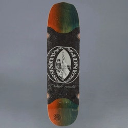 Madness Nohubo Ring Slick Blue 8.5 Skateboard Deck