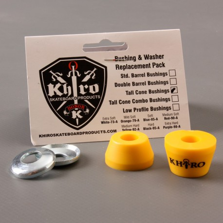 Khiro Tall Cone Bushings Med Hard 92a