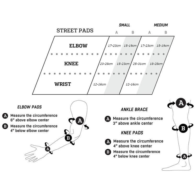 ProTec Street Gear Junior skydd