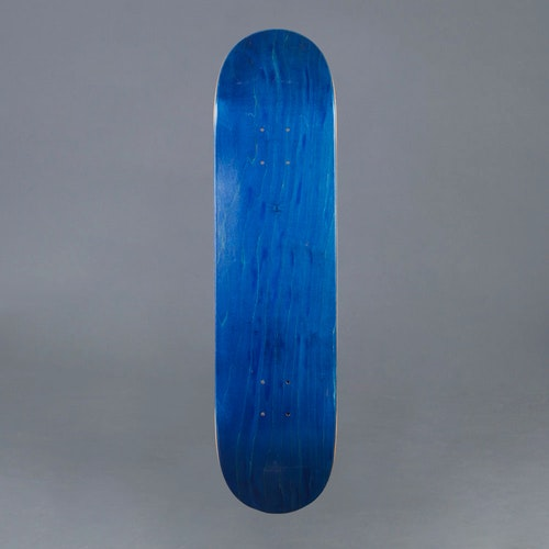 NB Skateboard Deck Blue 7.75""