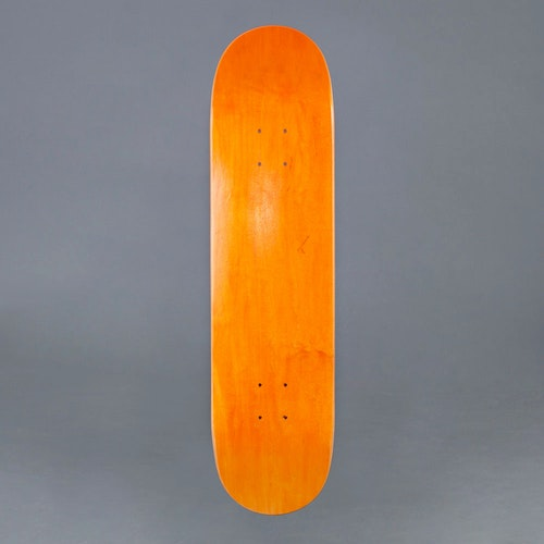 "NB Skateboard Deck ORG 7.75"""