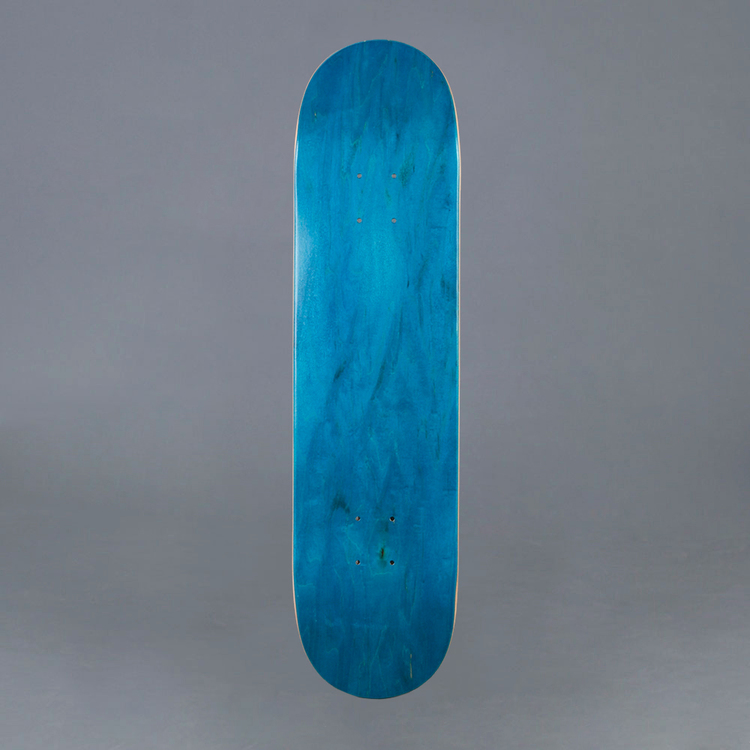 NB Skateboard Deck Teal 7.75""