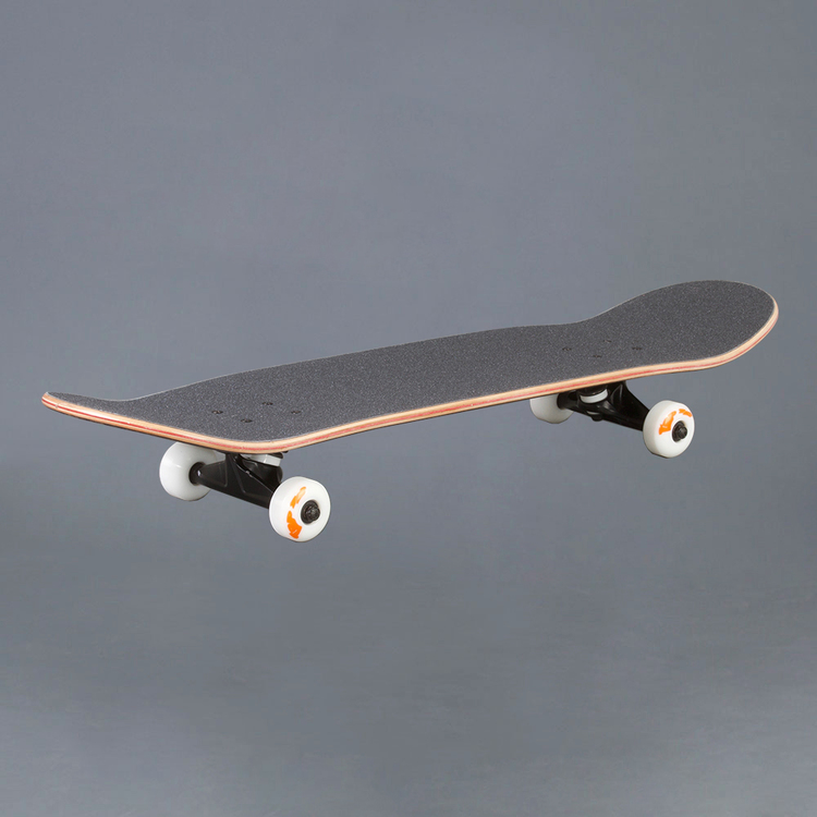 "NB Skateboard Komplett Maroon 7.75"""