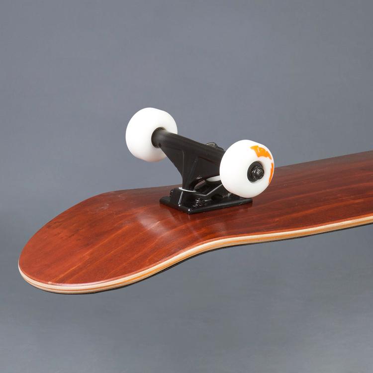 "NB Skateboard Komplett Maroon 8.125"""