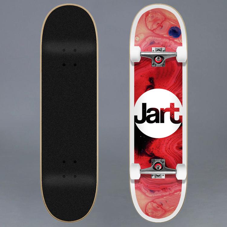 Jart Tie Dye 7.87 Komplett Skateboard