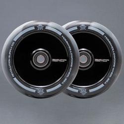 Revolution Hollowcore 110mm white / Black Sparkcykel Hjul 2-pack