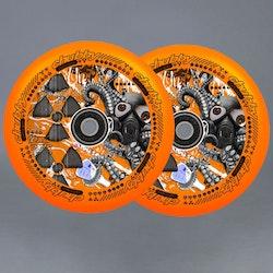 Chubby Lab Pro 110mm Orange Sparkcykel Hjul 2-pack