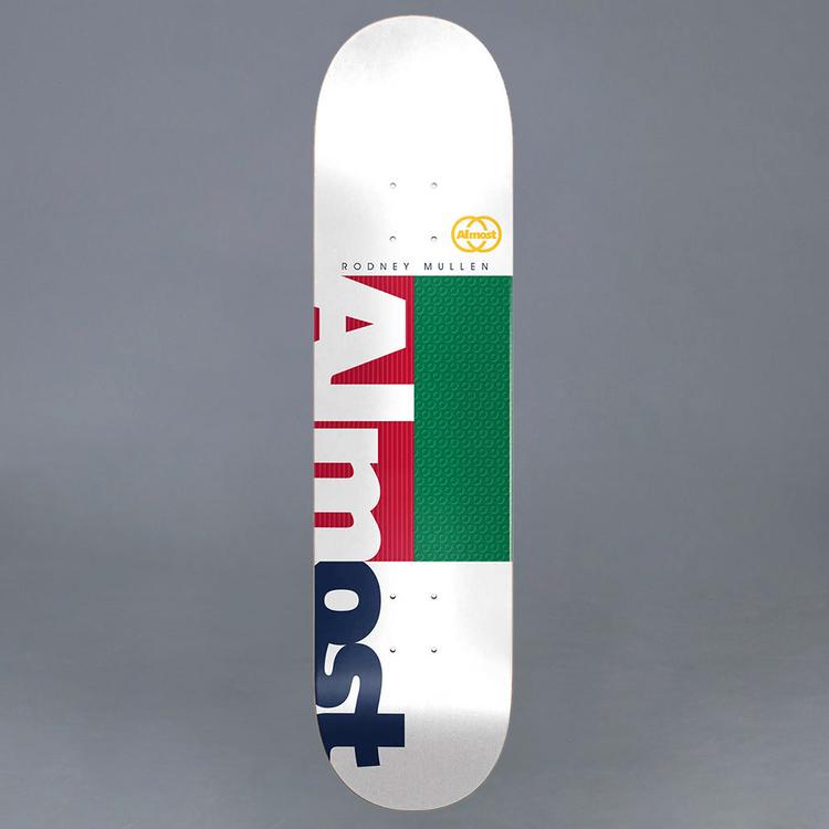 """Almost Mullen Ivy League Impact Light 8.0"""" Skateboard Deck"""