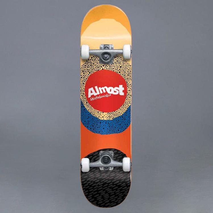 """Almost Radiate FP Yellow Komplett Skateboard 7.5"""""""