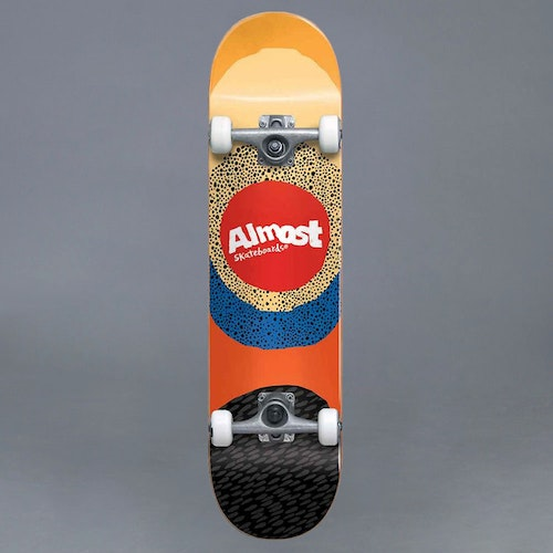 "Almost Radiate FP Yellow 7.5"" Komplett Skateboard"
