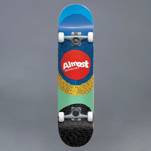 "Almost Radiate FP Blue 8.25"" Komplett Skateboard"