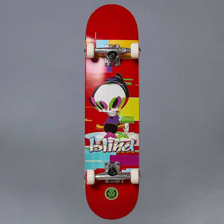 "Blind Reaper Glitch FP Red 7.75"" Komplett Skateboard"