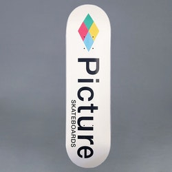 "Picture ""Picturoid"" 7.75"" Skateboard Deck"