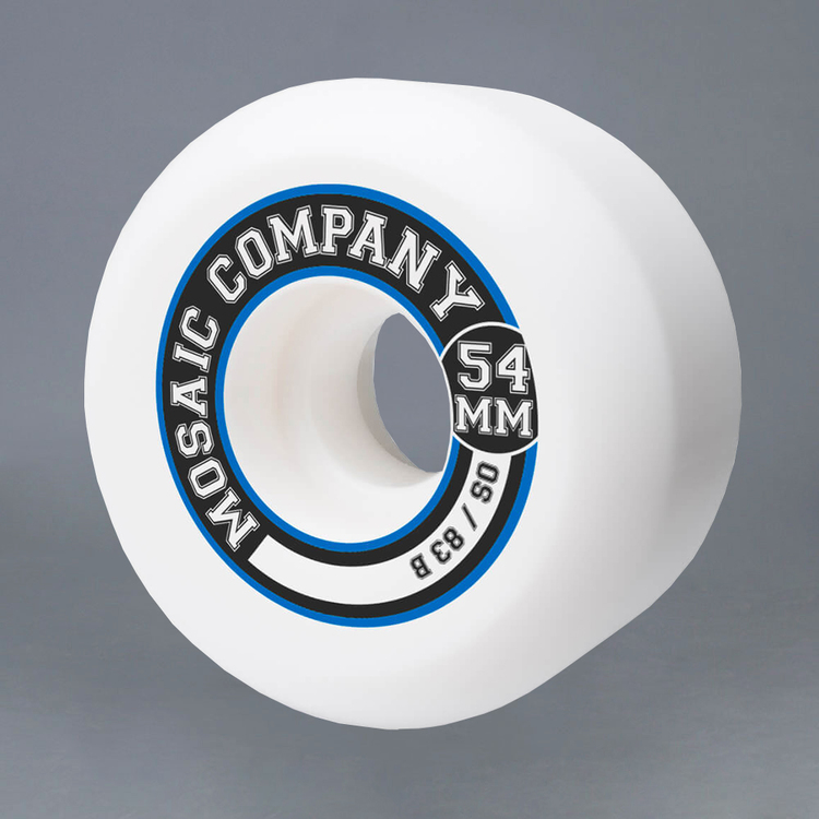 Mosaic OS College 54mm 83B Skateboard Hjul