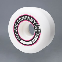 Mosaic OS College 53mm 83B Skateboard Hjul