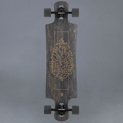 "Landyachtz Drop Hammer Black Pinecone 36.5"" Komplett Longboard"