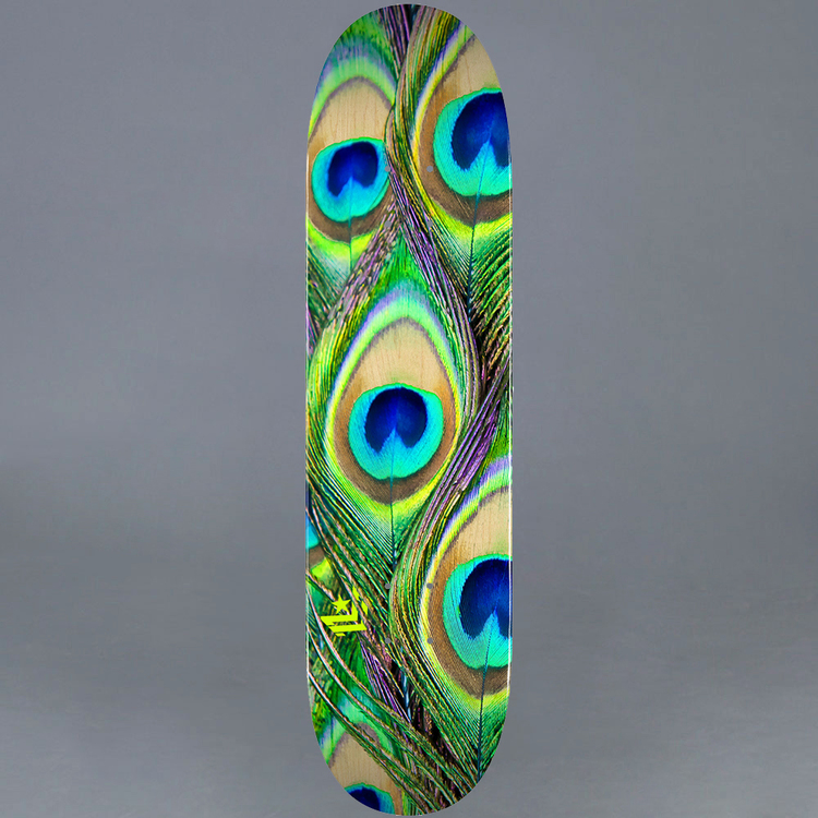 Mini Logo Peacock Feather 7.5 Skateboard Deck