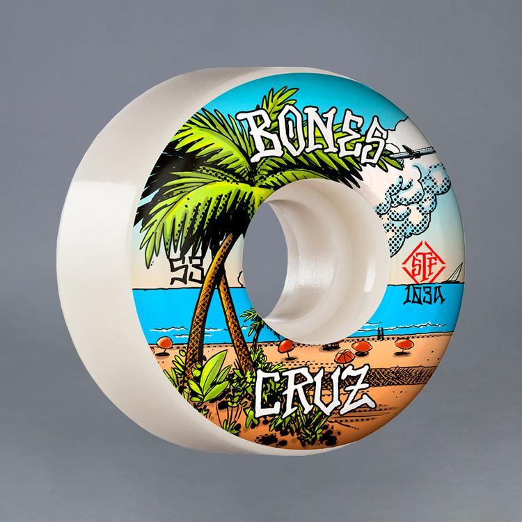 Bones Cruz Buena Vida 53mm v2 103A Skateboard Hjul