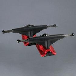 Tensor Magnesium Black/Red 5.0 skateboard truckar