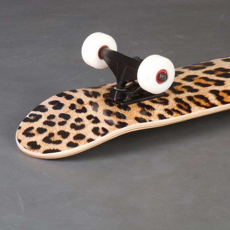 """Mini Logo Leopad Fur 7.5"""" Skateboard Komplett"""
