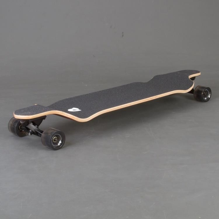 Retro S Drop Black Edge Longboard Komplett