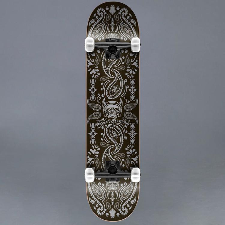 """Speed Demons Bandana Komplett Skateboard 7.75"""""""