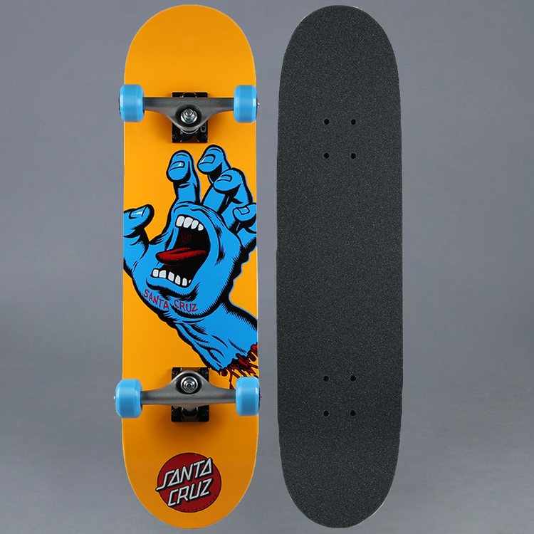"Santa Cruz Screaming Hand Komplett Skateboard 7.875"""