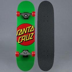 Santa Cruz Classic Dot Green 7.8 Komplett Skateboard