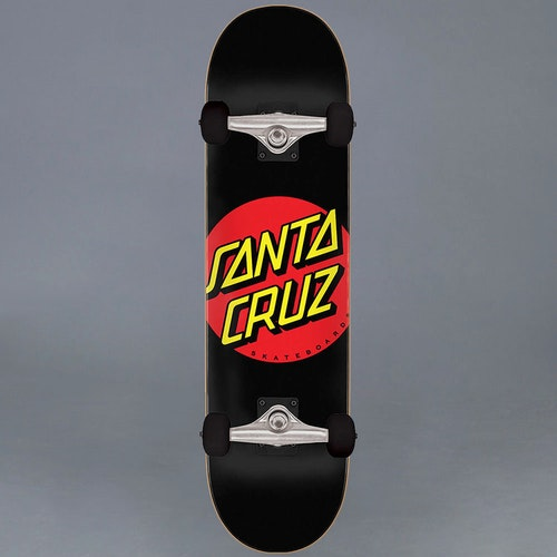 Santa Cruz Classic Dot BLK 8.0 Komplett Skateboard