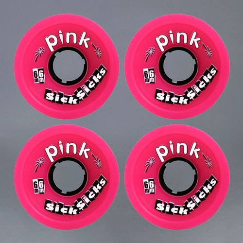 Pink Seven-o´s 66mm 78a Hjul