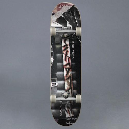 "Zoo York Mix Tape Komplett Skateboard 8"""