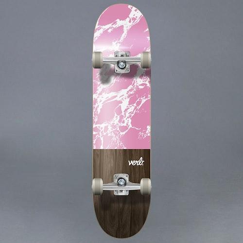 "Verb Marble Dip Rosa 7.75"" Komplett Skateboard"