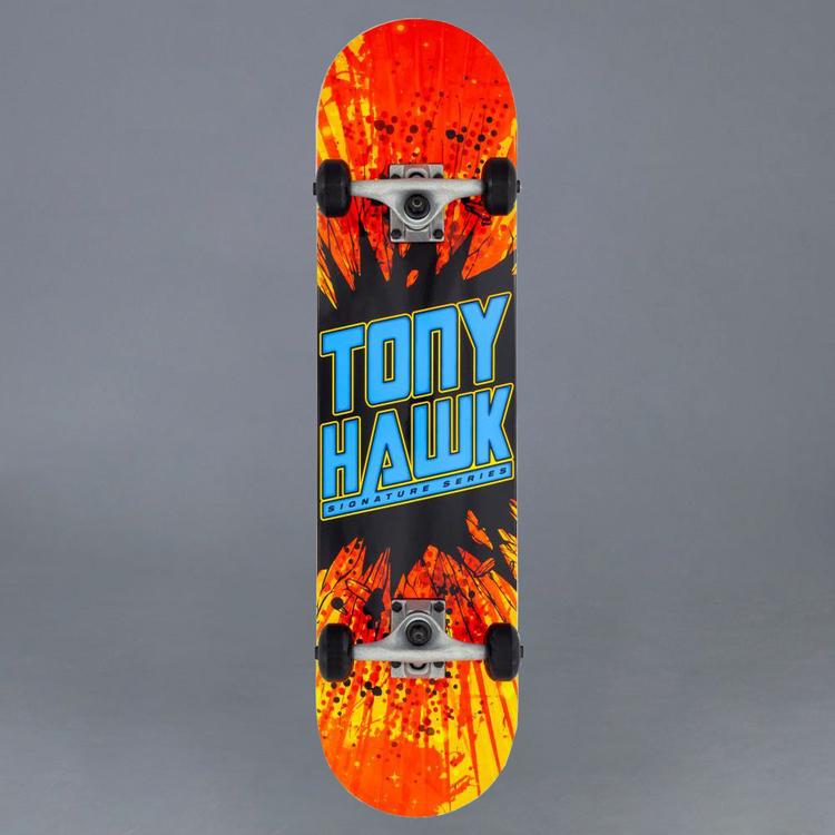 """Tony Hawk SS 180 Shatter Logo Komplett Skateboard 7.75"""""""