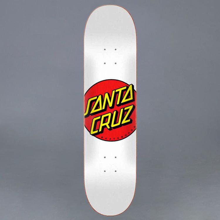 "Santa Cruz Classic Dot Skateboard Deck 8"""