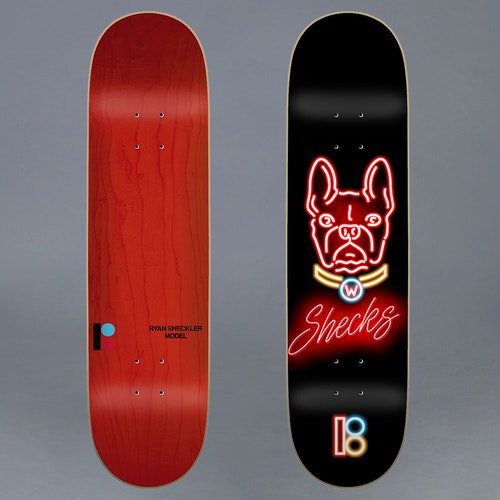 "Plan B Neon Sheckler Skateboard Deck 8.125"""