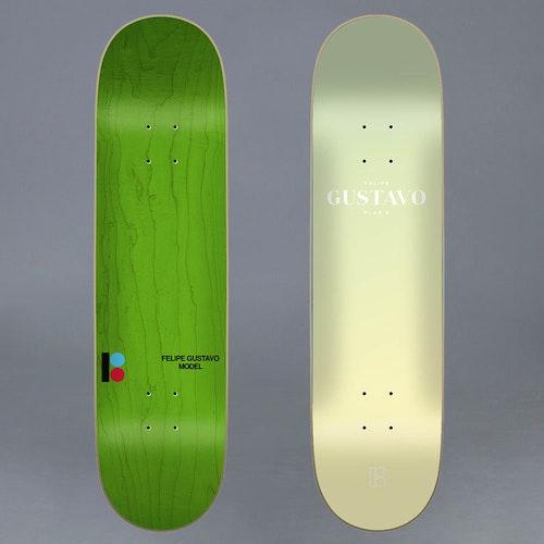 "Plan B Faded Gustavo Skateboard Deck 7.75"""