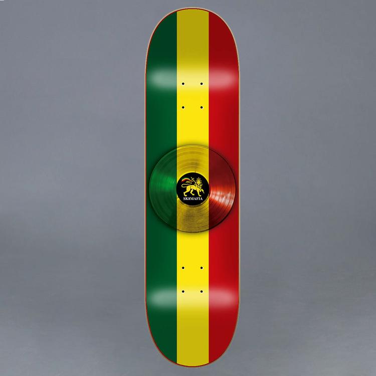 "Sk8mafia Roots Skateboard Deck 8"""