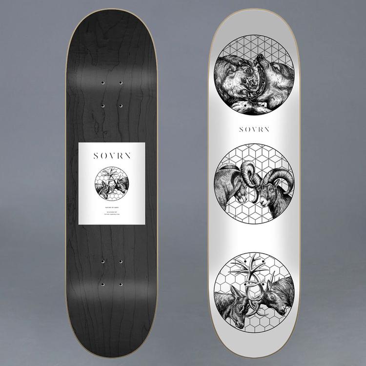 Sovrn Nature Of Wars 8.0 Skateboard Deck